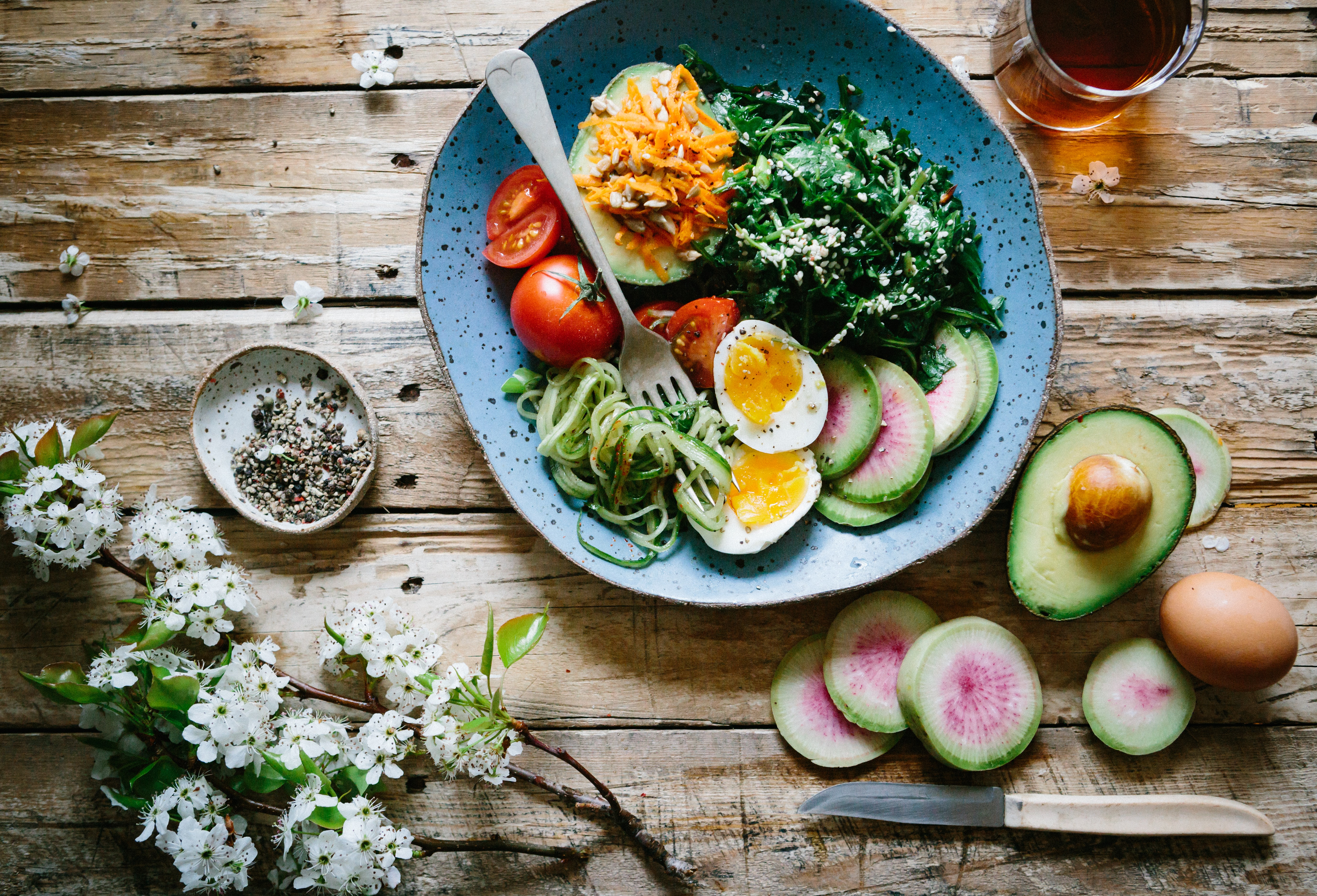 healthy food work from home