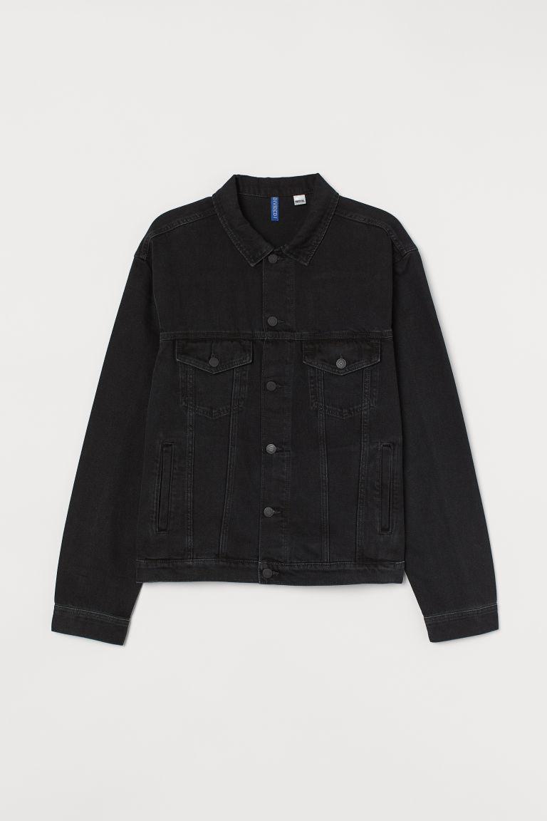 Post Malone H and M collab - black jacket.