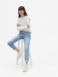 gap model denim jeans