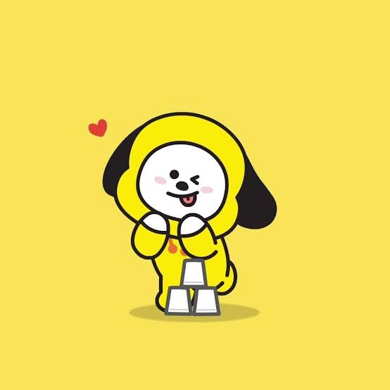 Chimmy BT21 toys available on Amazon.