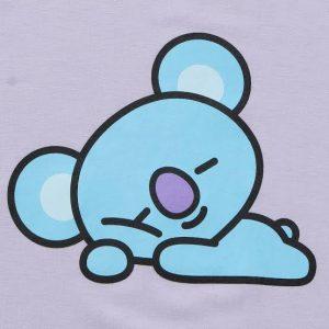Cute, blue Koya figure.