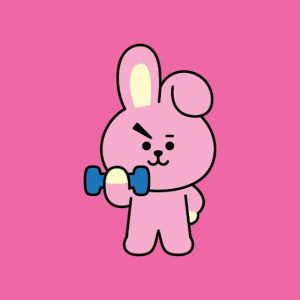 Cooky BT21 - the one into gym!