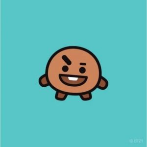 Shooky BT21 fot tose who have a sweet tooth!