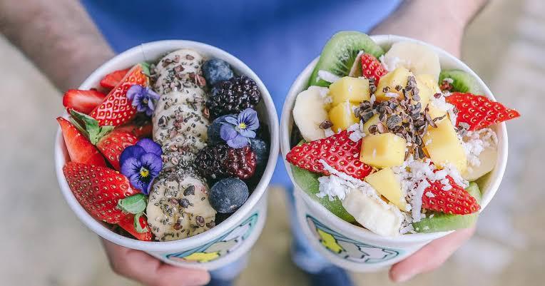Deliveroo food: Acai Bowl