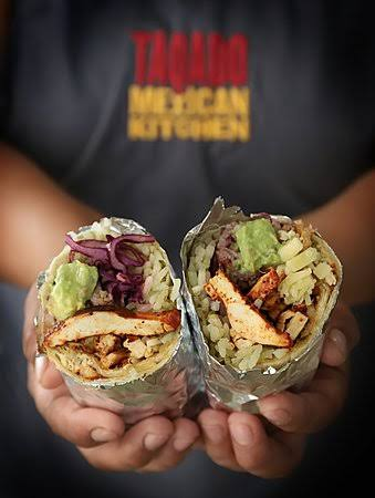 Post Quarantine dinner: chicken burrito