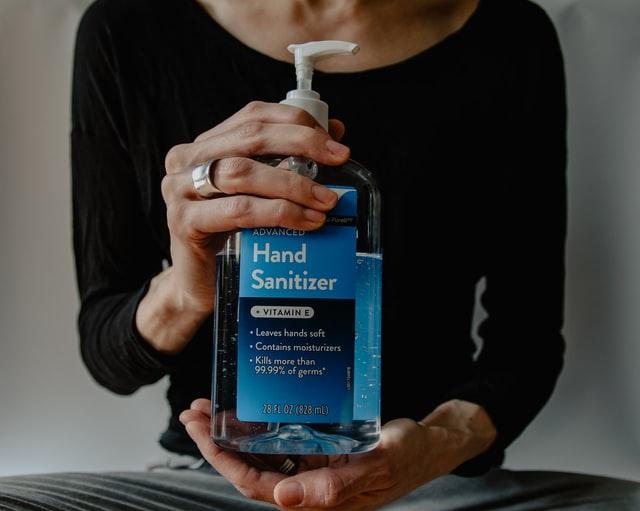 House party essentials - hand sanitizer