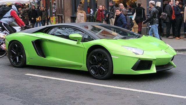 Lamborghini mango delivery