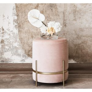 N.02 Pouf-Pink&Gold from Homzmart