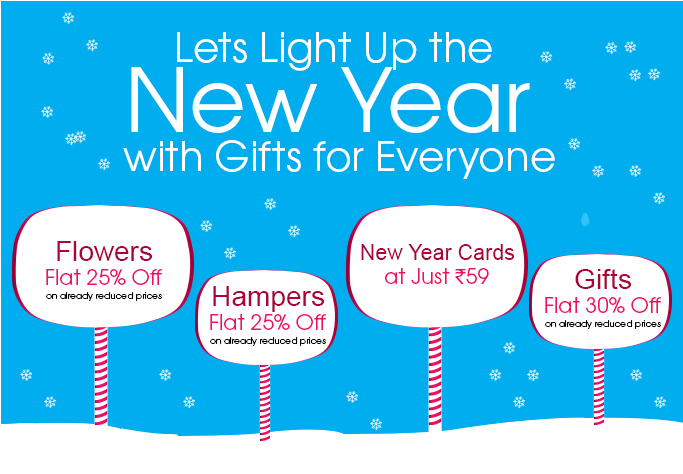 New year offers and deals
