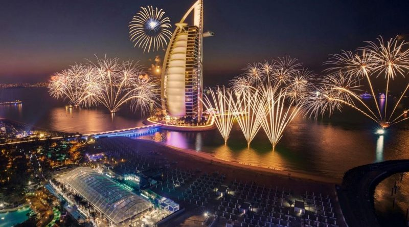 UAE's New Year fireworks spectacle are the best from these places