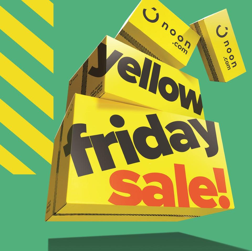 Here's all you need to know about Noon's Yellow Friday