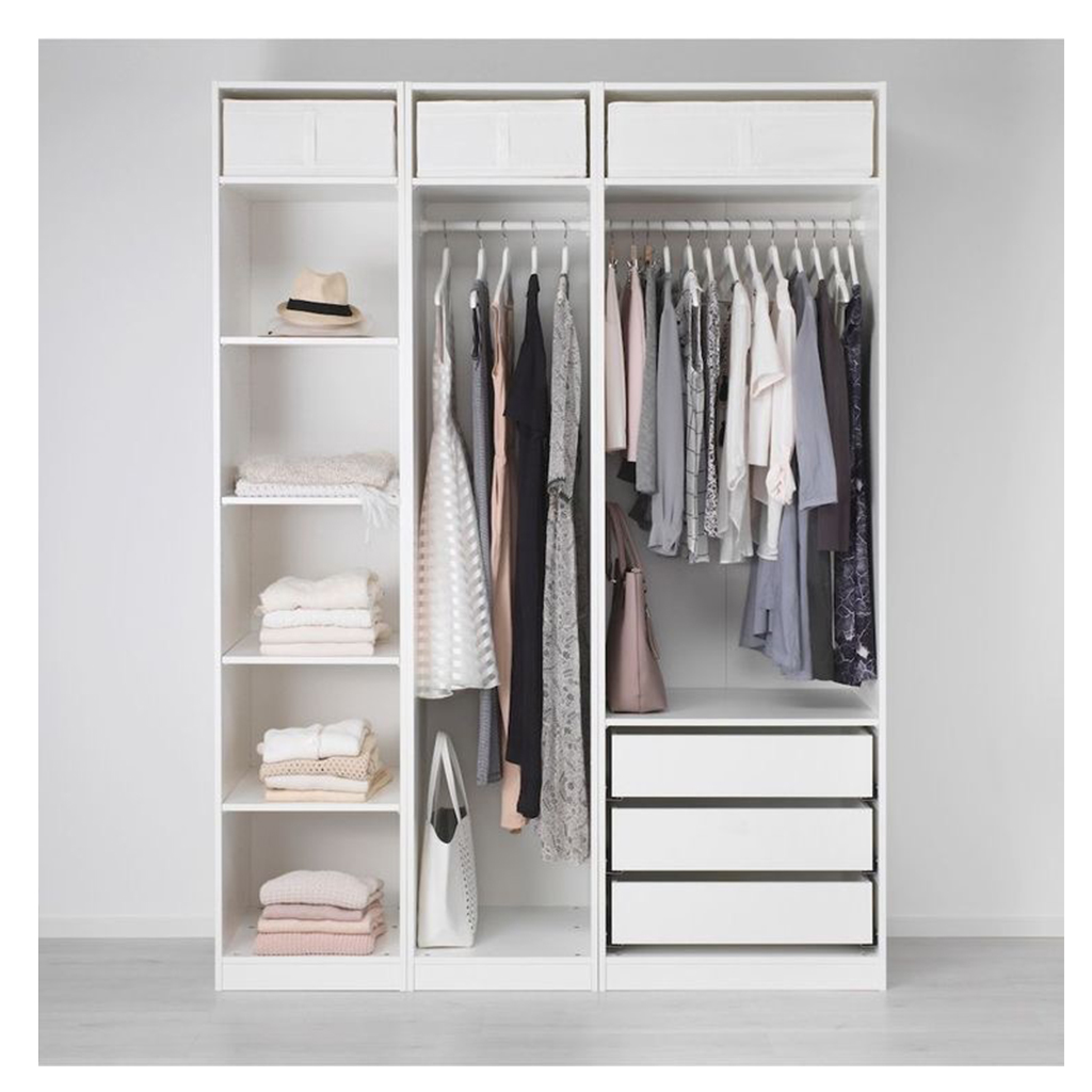 Open and clean closet
