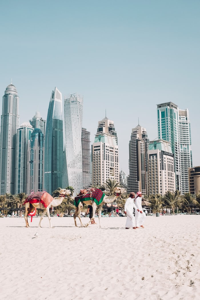 Instagrammable places in Dubai