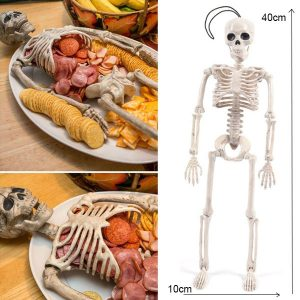 halloween party essentials - Skeleton snack bar