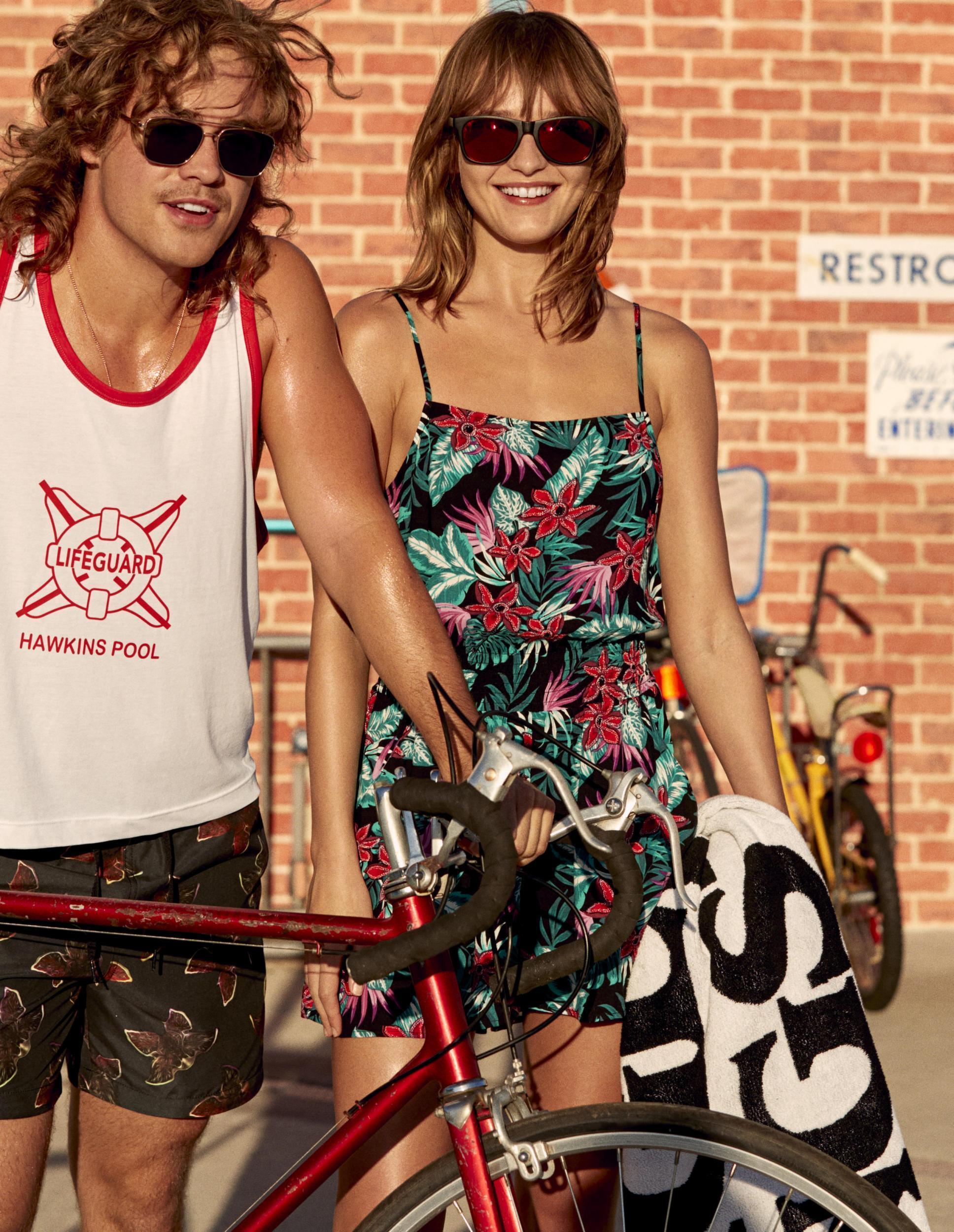 stranger things 80s fashion in H&M
