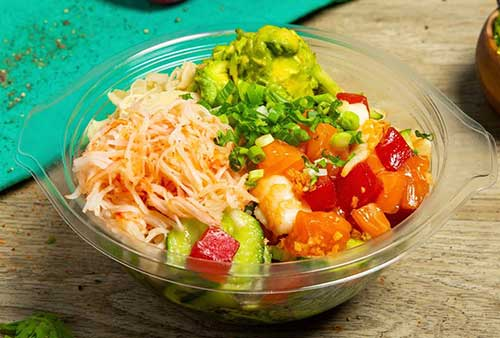 Takeout from Deliveroo: Sushi Lovers Poke