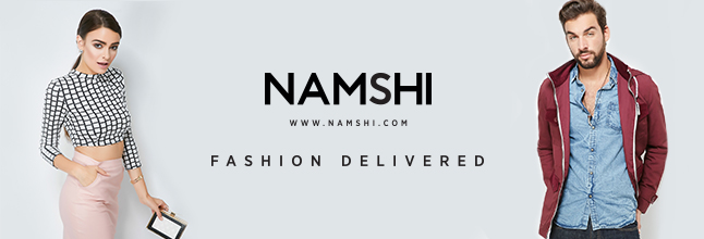 <h1>Stay trendy with Namshi</h1>