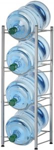 Best selling product on Amazon - 4-Tier Water Bottle Holder Shelf
