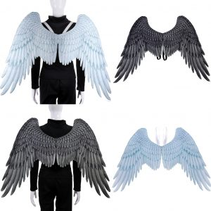 angel wings as a halloween party essentials