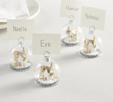 simple christmas decoration ideas for home - Card Holder
