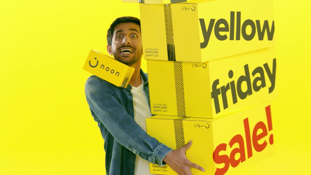 Yellow Friday deals and sale.